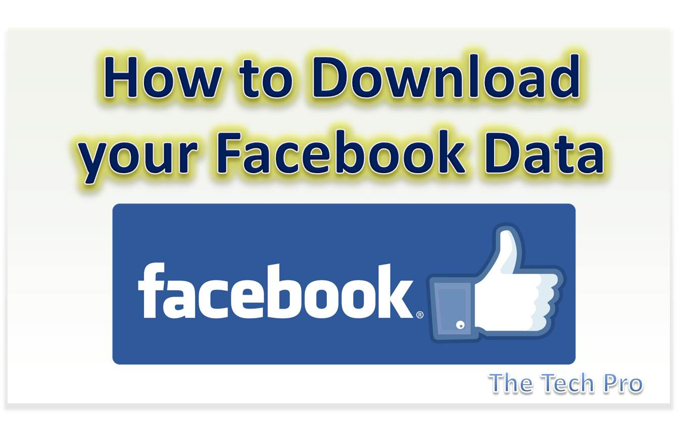 How to Download Your Facebook Friends List and Other Data