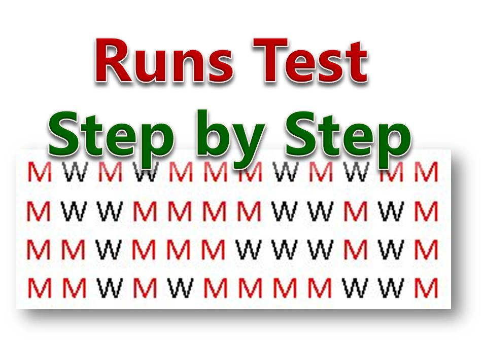 Hypothesis Testing Question 21 – Wald-Wolfowitz Run Test for Large Sample (Step by Step Procedure)