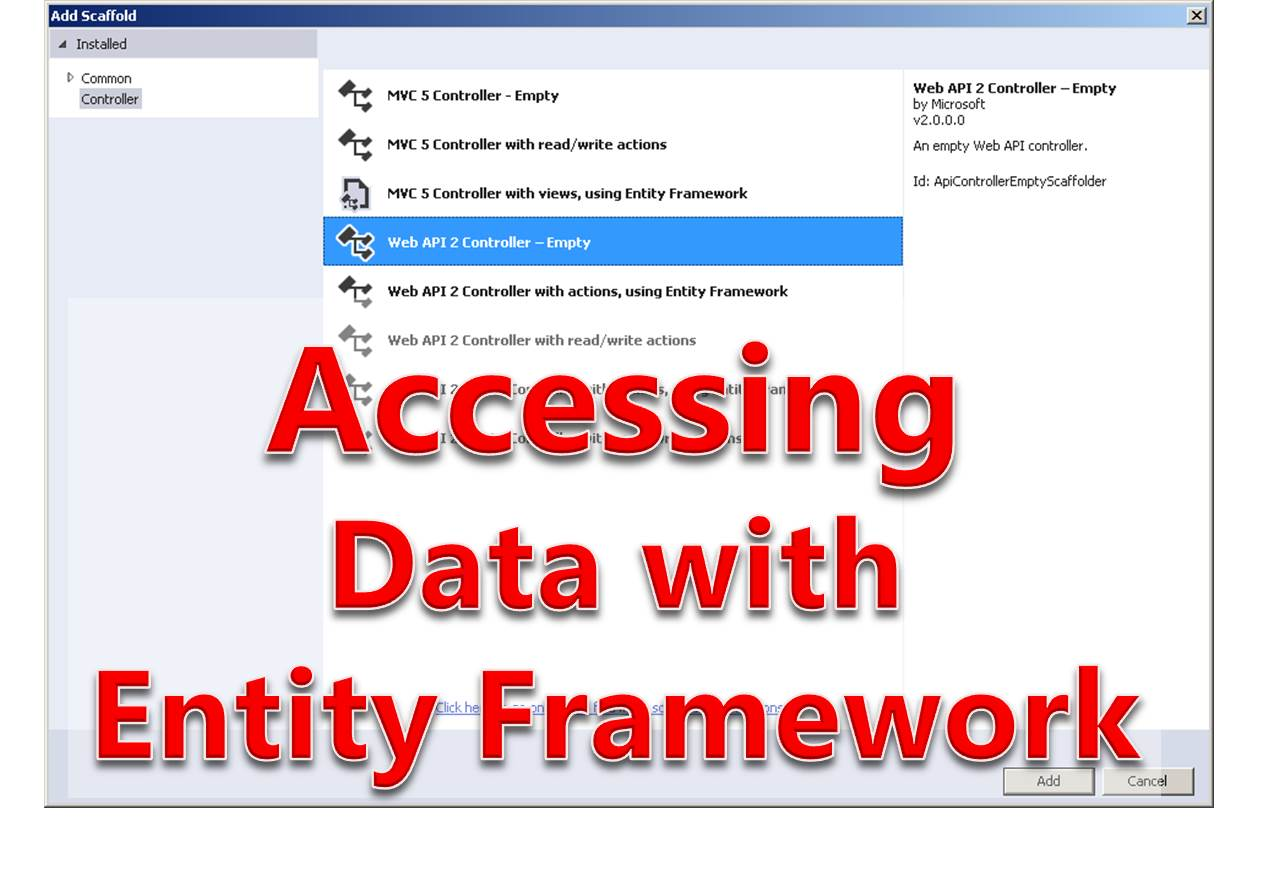 Tutorial 7 - Accessing Database with Entity Framework