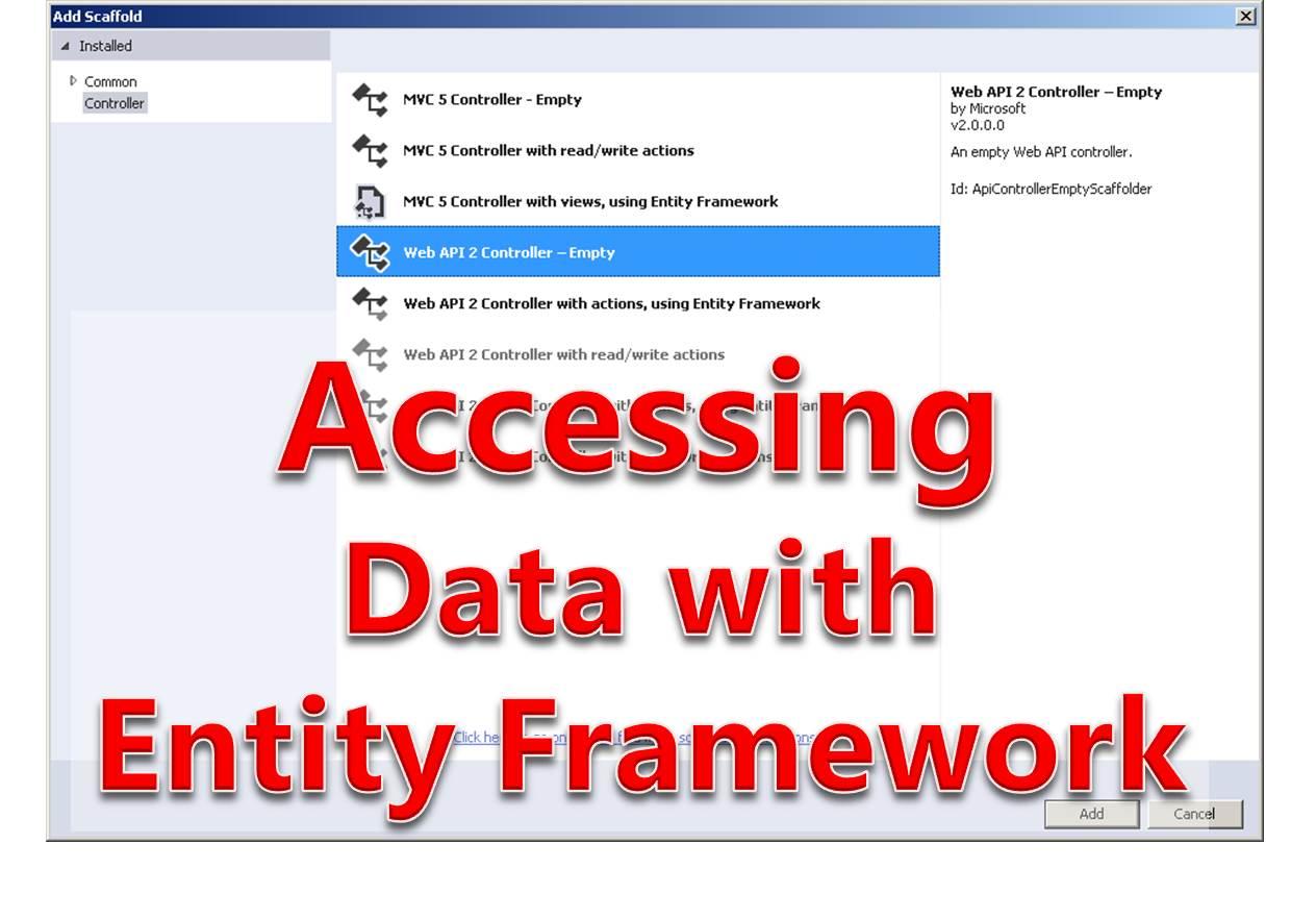 Tutorial 7 - Accessing Database with Entity Framework