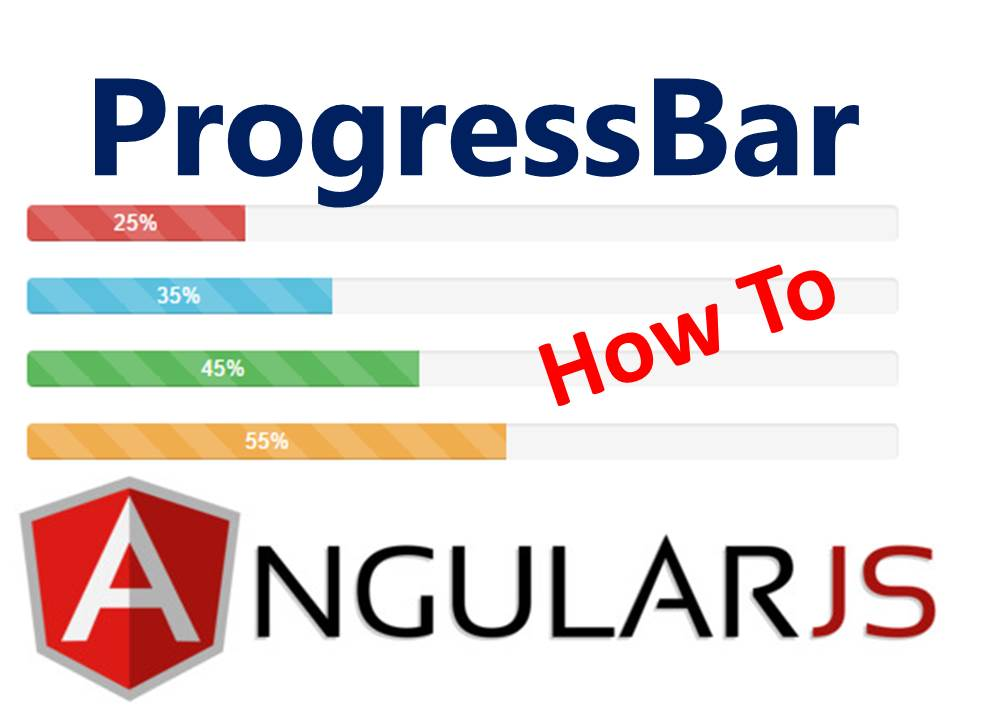 How to Add a Progressbar Column to Table Using AngularJS and BootStrap UI