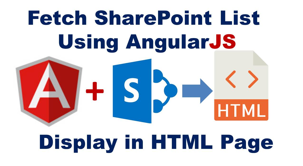 How to Fetch SharePoint List using AngularJS and Display on html Page (Explaining the Codes)