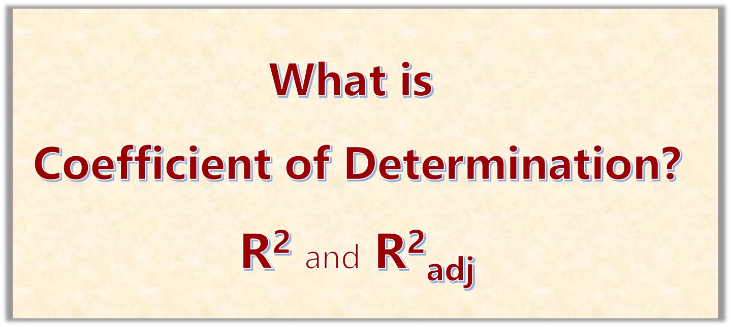 What is Coefficient of Determination in Linear Regression