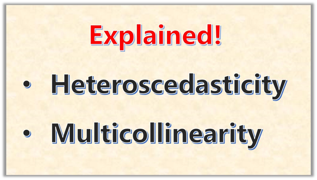 What is Heteroscedasticity and Multicolinearity in Regression Analysis?