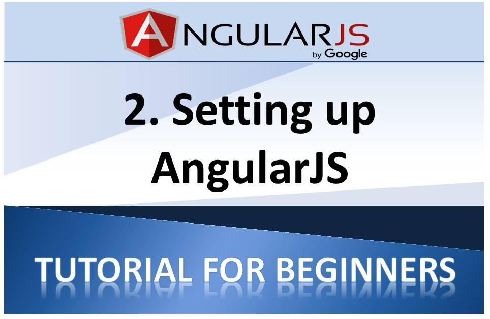 How to Set up AngularJS