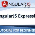 AngularJS Expressions - AngularJS Tutorials