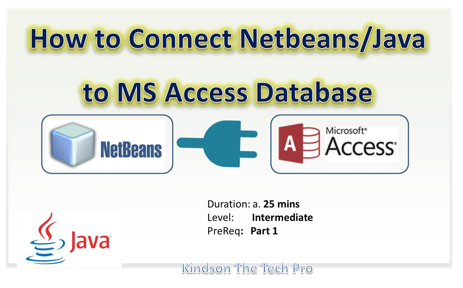 How to Connect Netbeans to MS Access Database and View Data