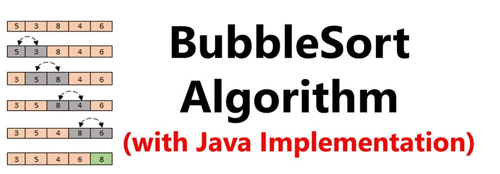 How Bubble Sort Algorithm Works (Implementation in Java)