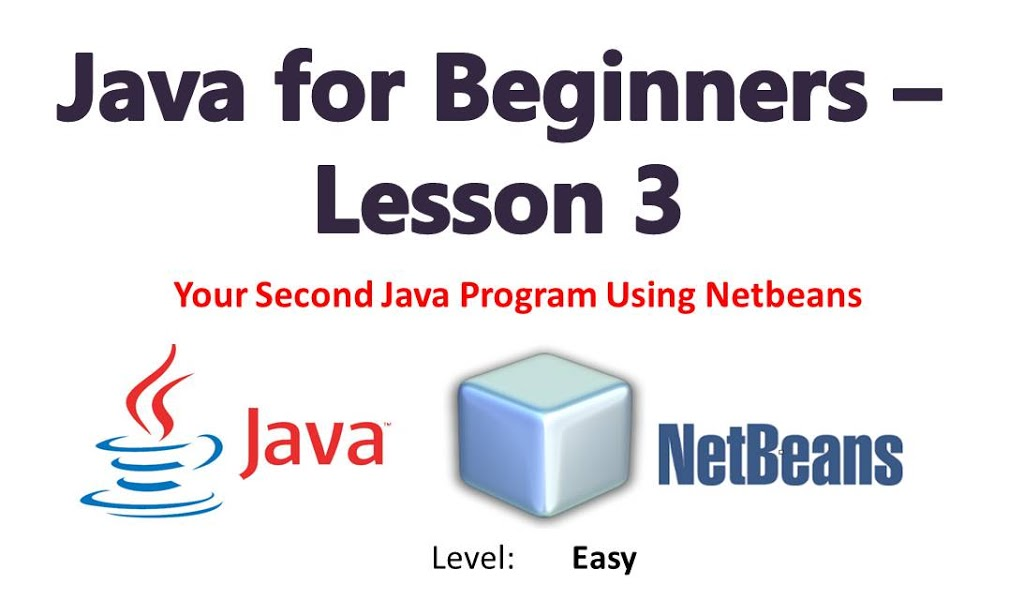 Java Progamming For Beginners Lesson 3: Your Second Program (Java Basic Syntax)