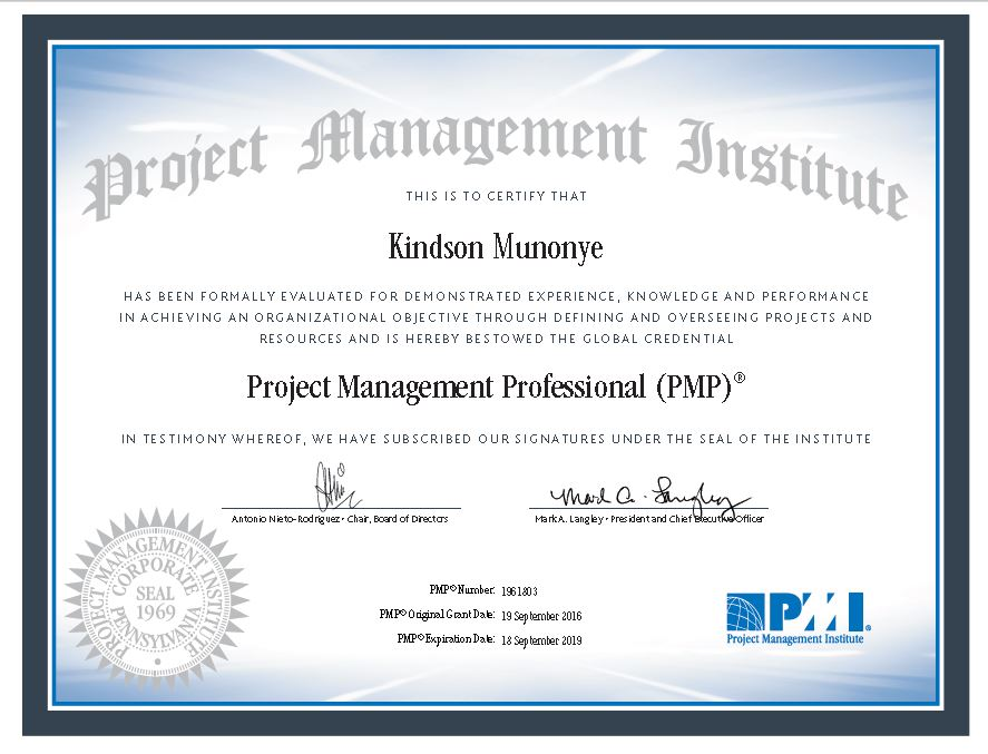 5 Keys To Getting Project Management Professionalpmp Certification
