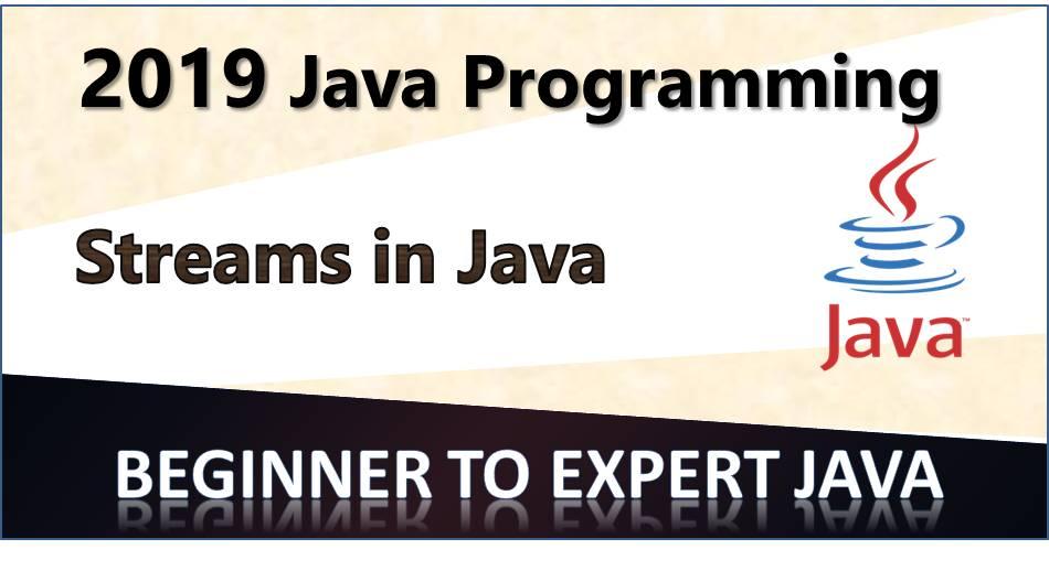 Streams in Java