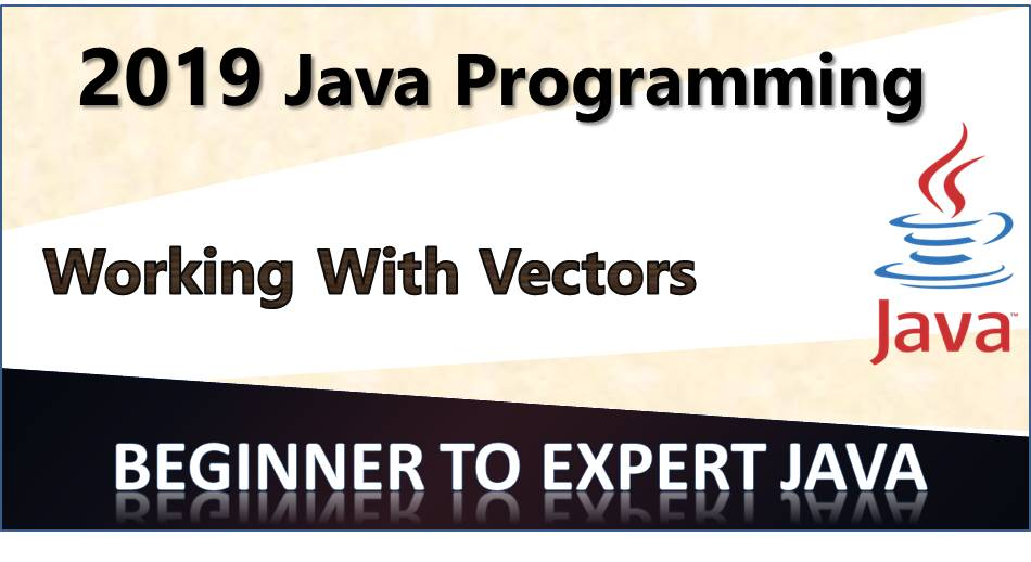 Vectors in Java