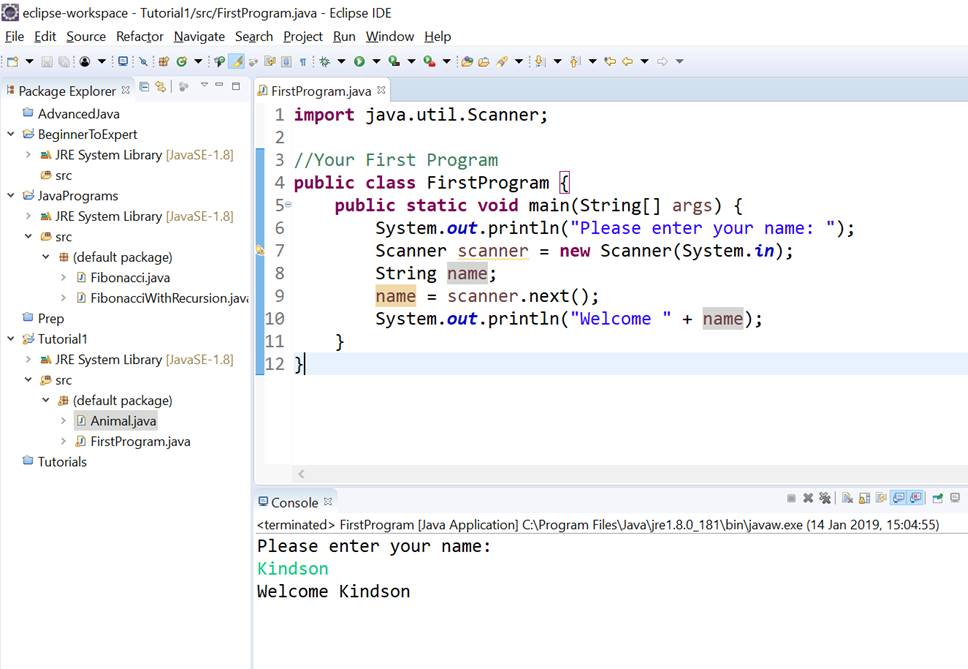 Java - Basic Syntax - Java Tutorials
