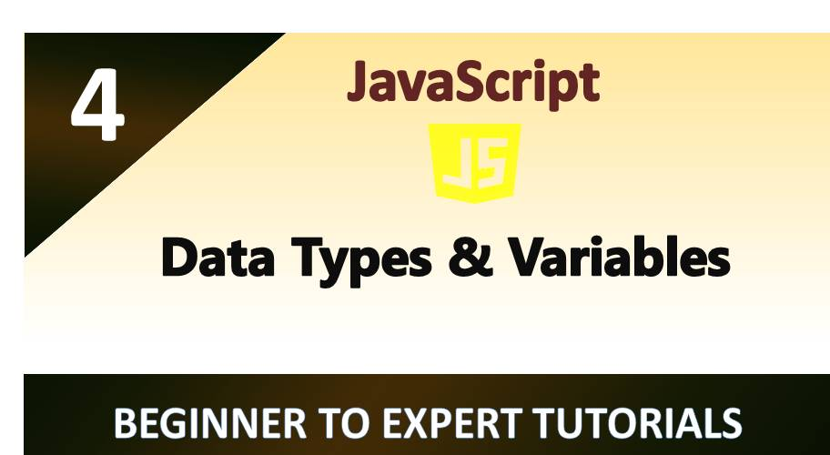 Data Types and Variables in JavaScript
