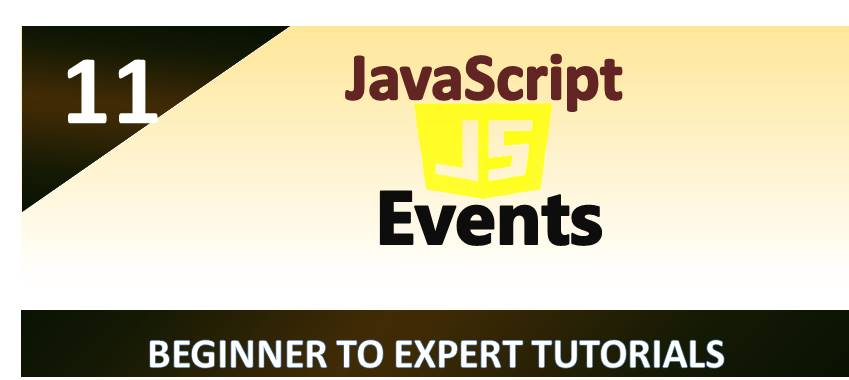 JavaScript – Events
