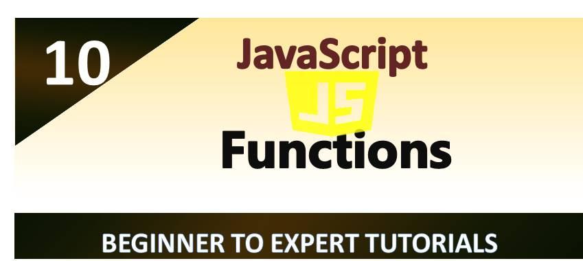 JavaScript – Functions