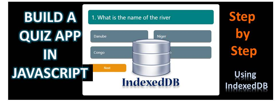 Quiz App Using IndexedDB