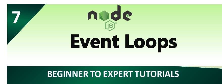 Event Loops in Node