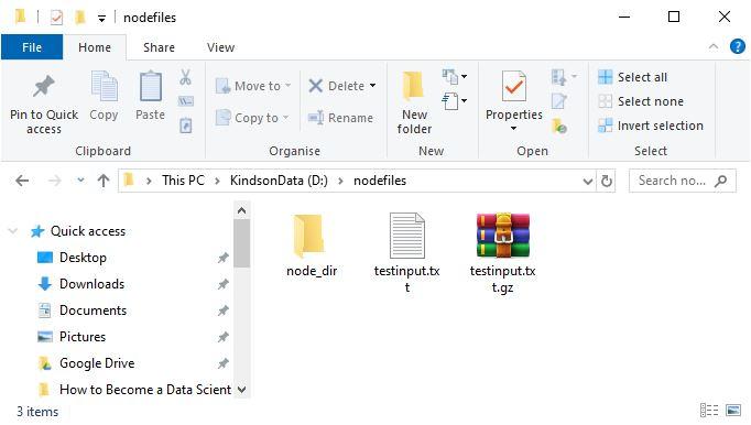Node.js directory