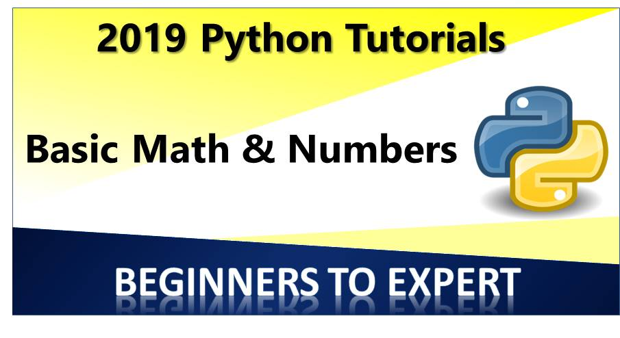 Basic Math and Numbers in Python