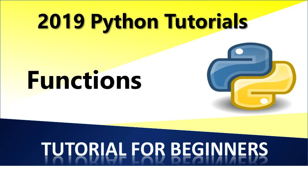 Python – Functions