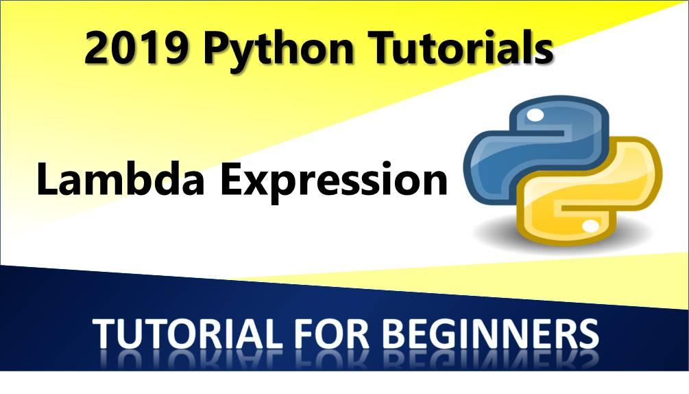 Lambda Expression in Python