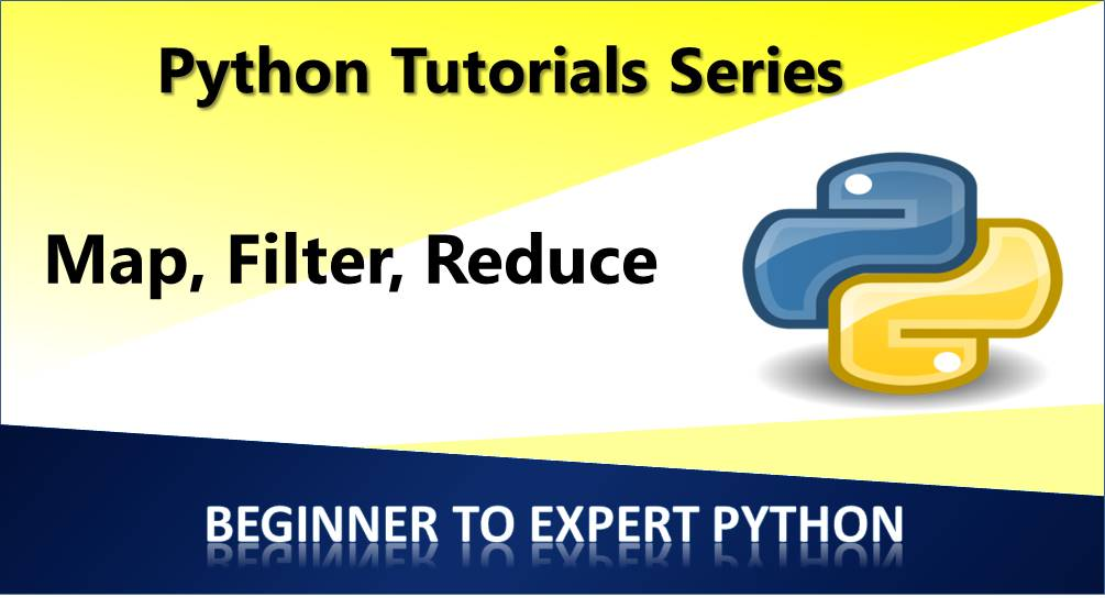 Map, Filter and Reduce in Python