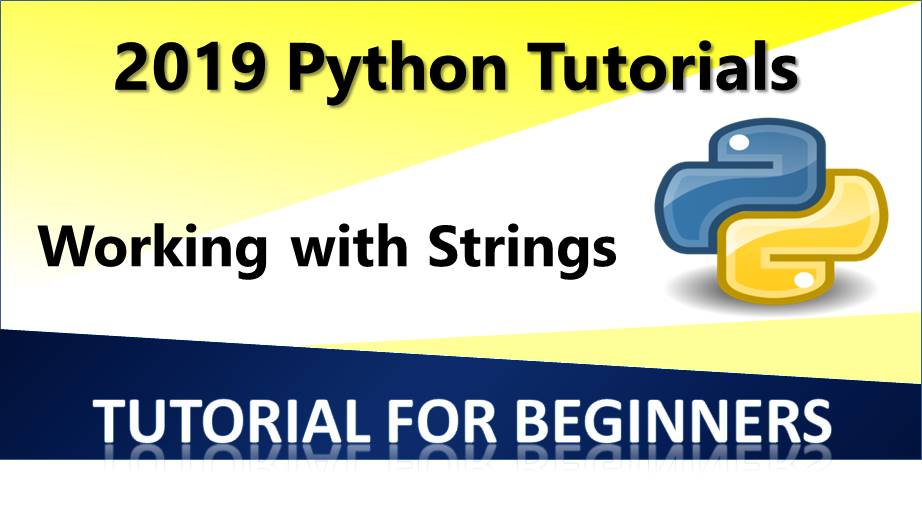 Working with strings in Python